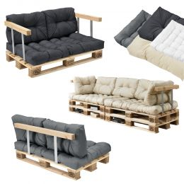Indoor Palettensofa-Set